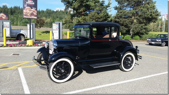 1928 Model A Coupe Special, owned by Martin & Carrie Andres