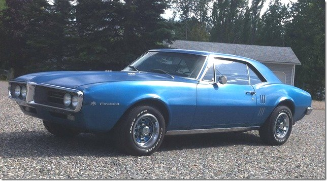 1967 Firebird, Owned by Brandon Millership