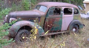 1935 Pontiac with motor & trans  $1500.00 - Dave at 250 249-5462